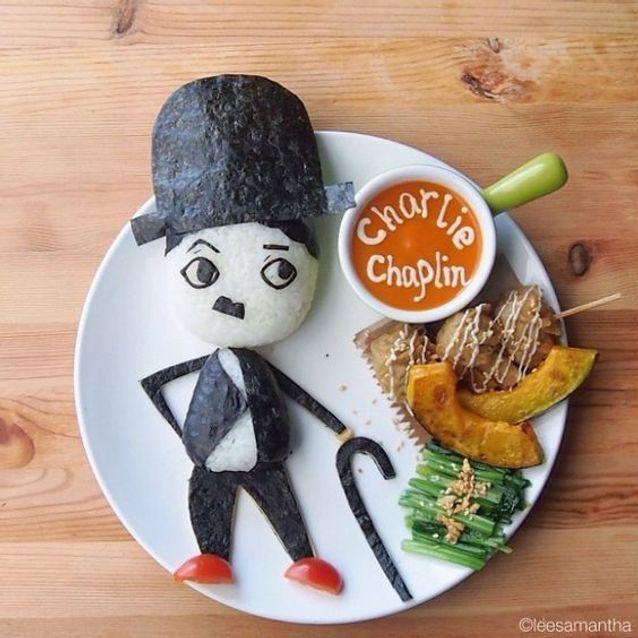 Assiette Charlie Chaplin