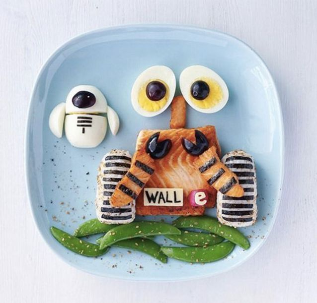 Wall-e en thon et riz