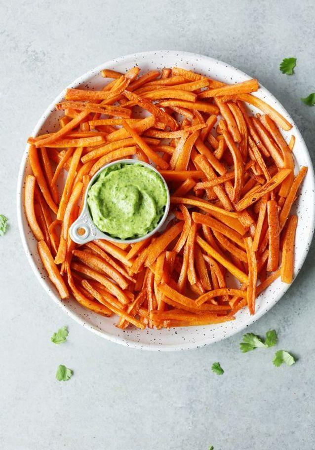 Frites de carottes au paprika fumé