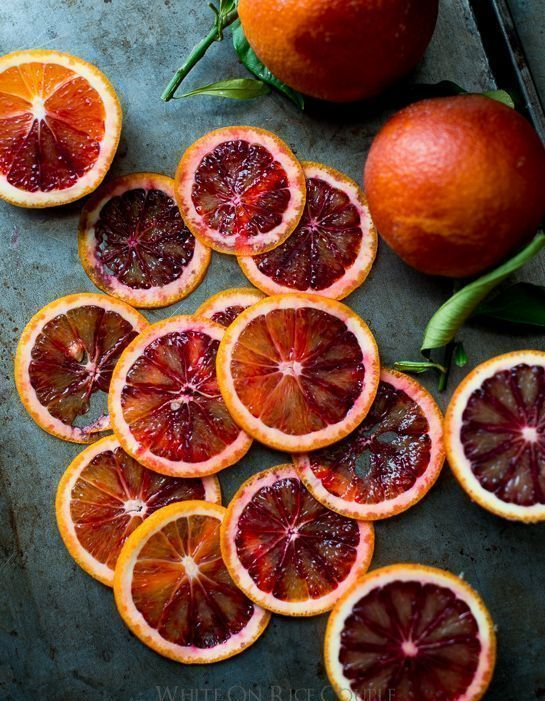 Fruits et légumes de saison avril : orange sanguine