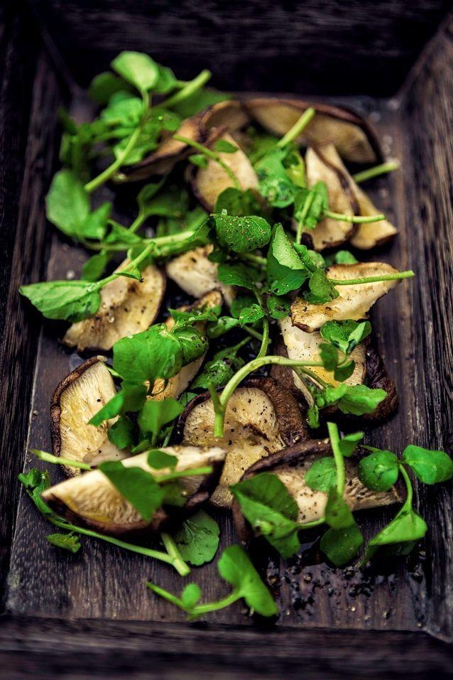 Fruits et légumes de saison mai : cresson