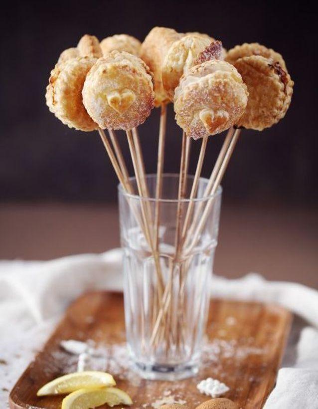 Des mini-galettes des rois en forme de cake pops