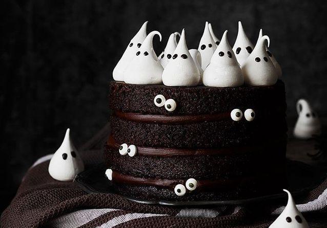 24 gâteaux d'Halloween horriblement bons