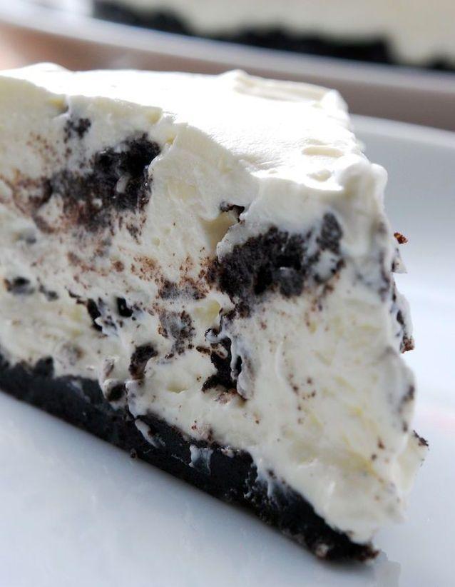 Oreo cheesecake sans cuisson