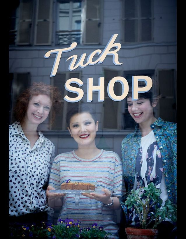 "Rain, Anna et Stella : les girls du ""Tuck Shop"""