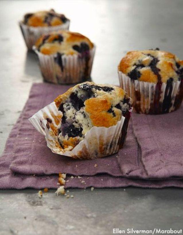 Muffins Myrtilles De Blythe