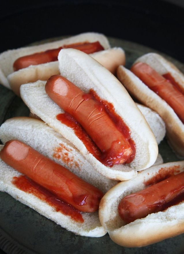 Hot dog de l'horreur