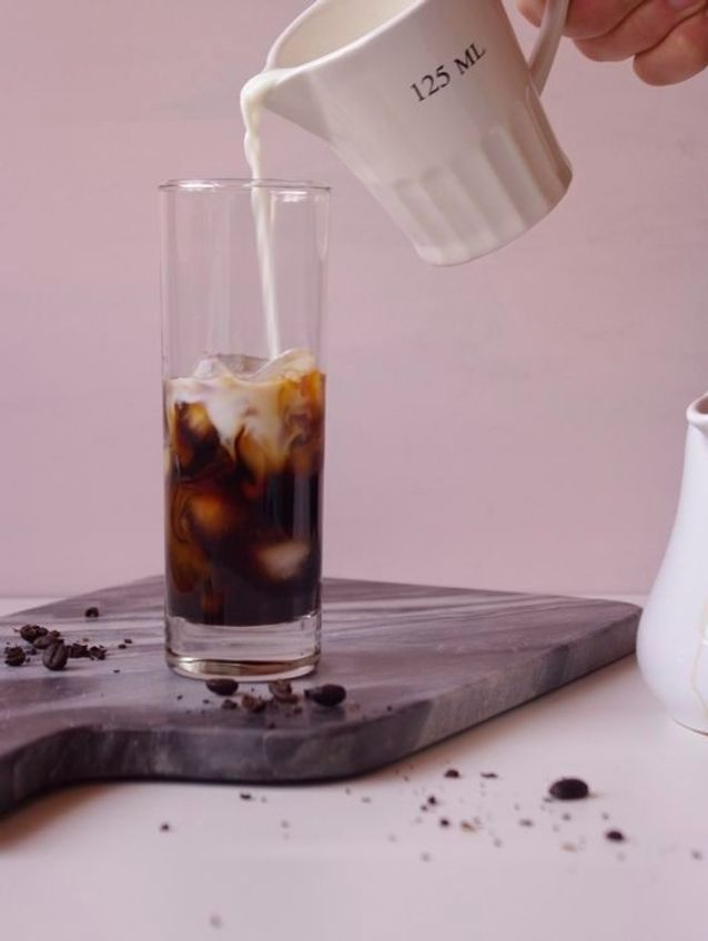 Iced coffee noisette
