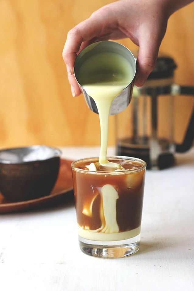 Iced coffee vietnamien