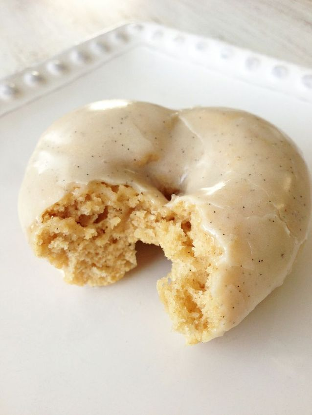 Junk food healthy : Donuts au four à la vanille