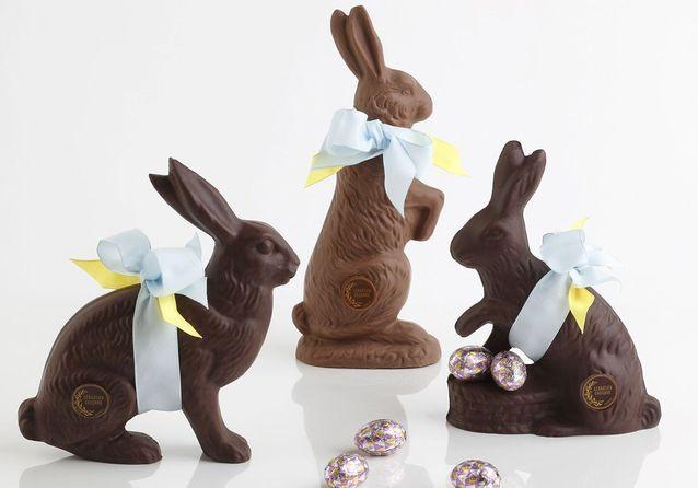 Où acheter des lapins de Pâques en chocolat ?