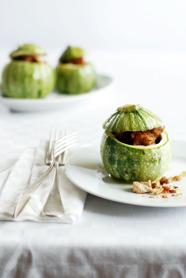 Légumes farcis à la viande hâchée
