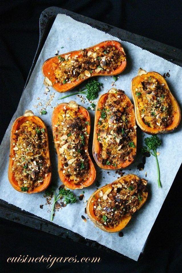 Légumes farcis sans viande
