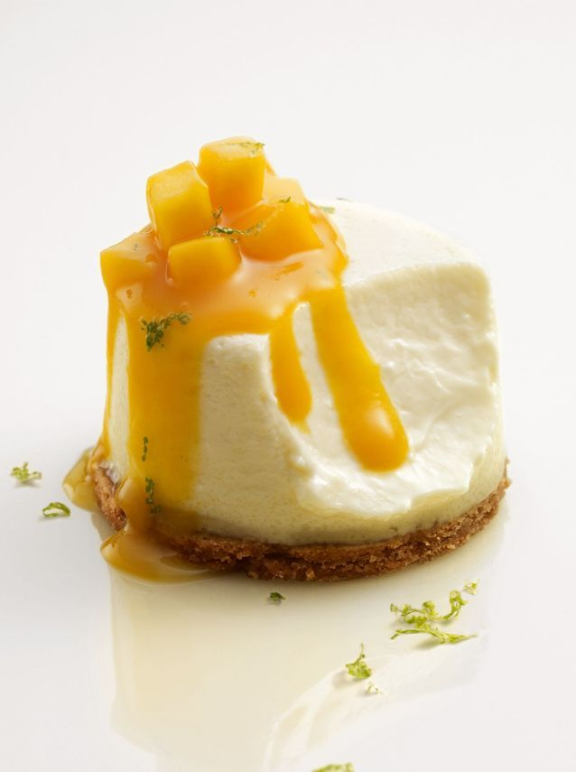 Michalak dessert Cheesecake © Laurent Fau