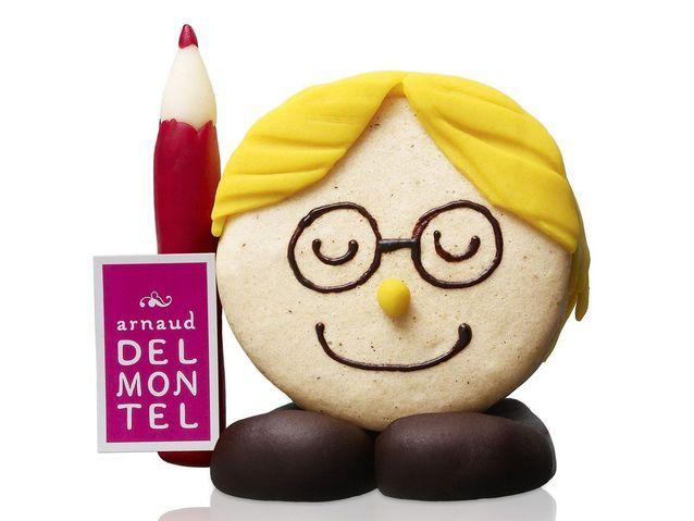 Le macaron écolier de Delmontel