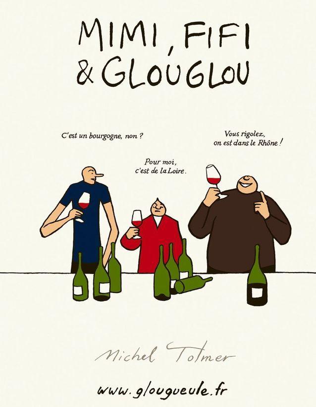 Le vin en bande dessinée