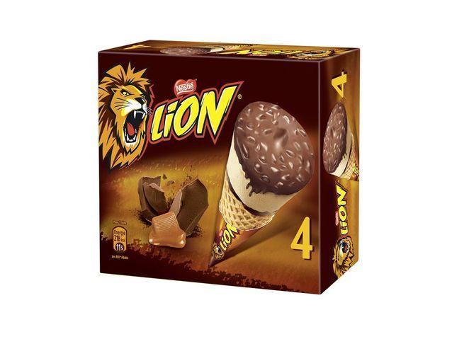 Cônes LION  Nestlé Glaces