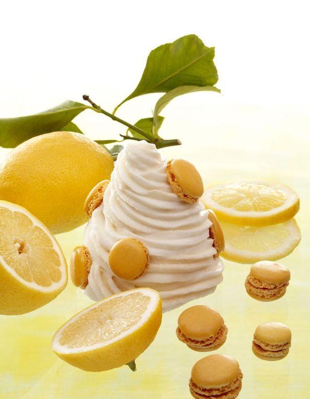 Glace au macaron infiniment citron, Pierre Hermé