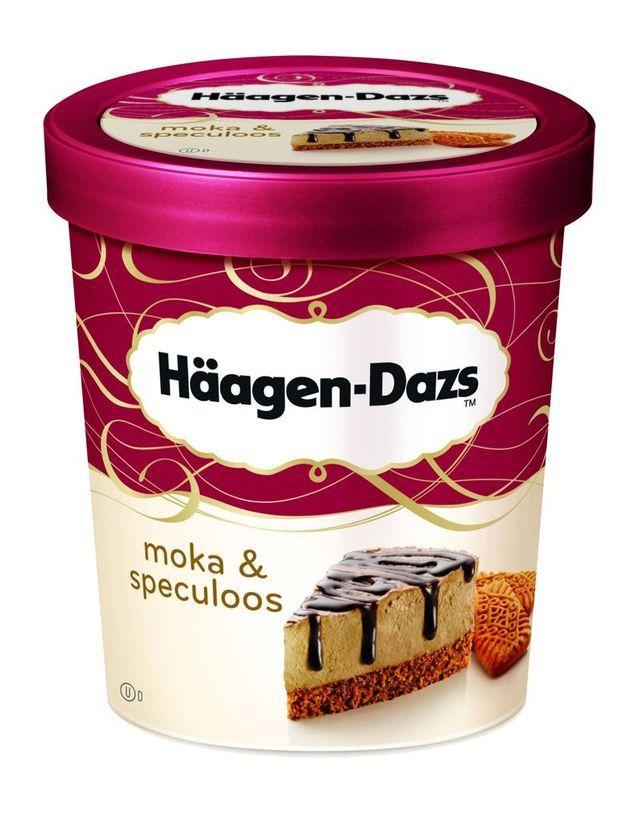 Glace Moka Spéculoos, Häagen-Dazs pour Monoprix