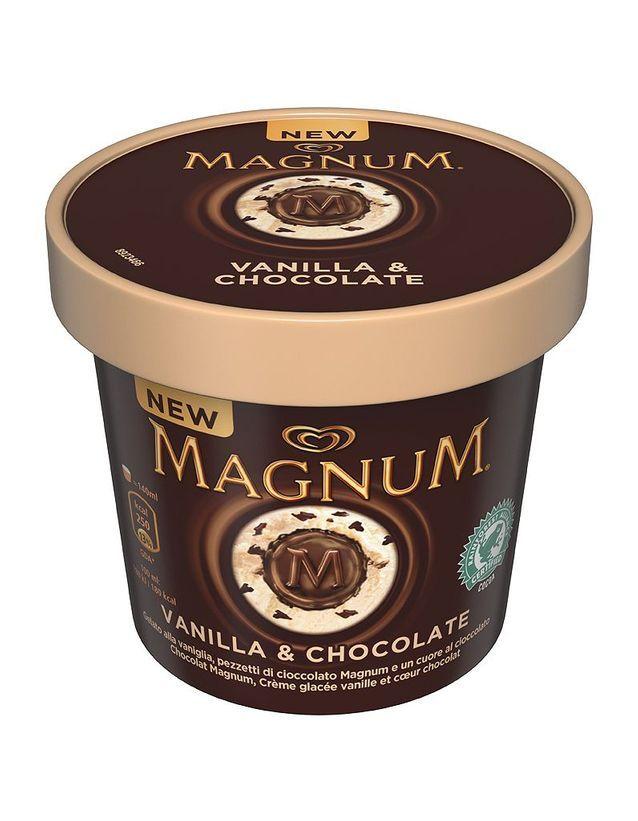 MAGNUM CUP VANILLE CHOCOLAT