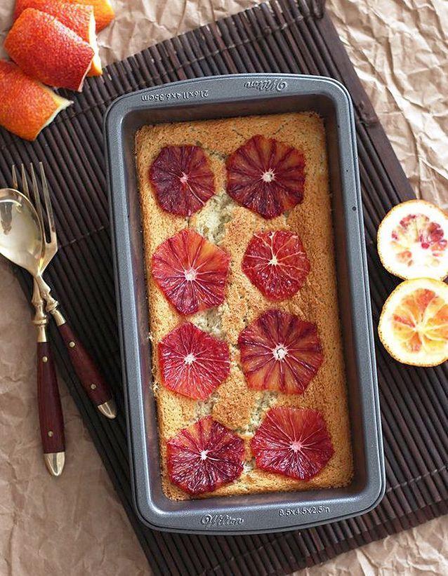Gâteau magique à l'orange sanguine
