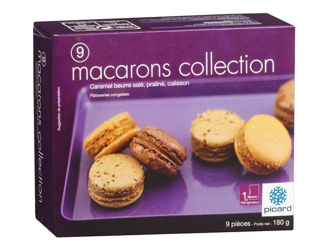 Boîte de macarons Picard