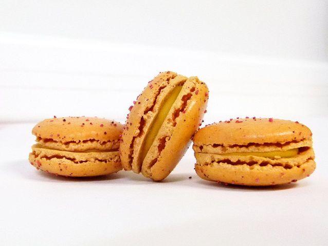 Macaron passion-safran Vincent Guerlais