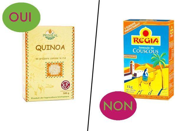 Du quinoa - Manger bon et sans gluten, c'est possible