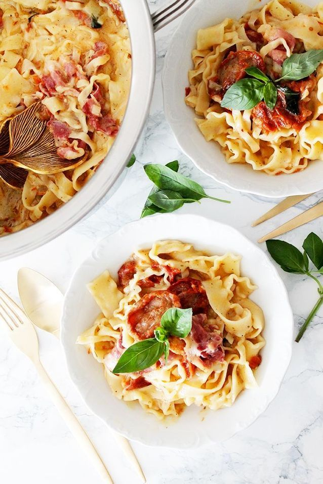 One pot pasta pancetta