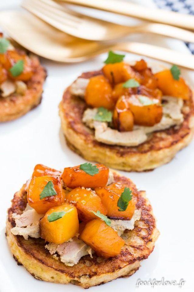 Pain perdu au foie gras et mangue