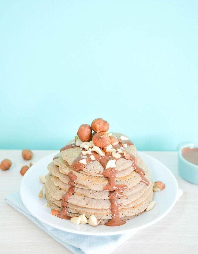 Pancakes healthy vegan