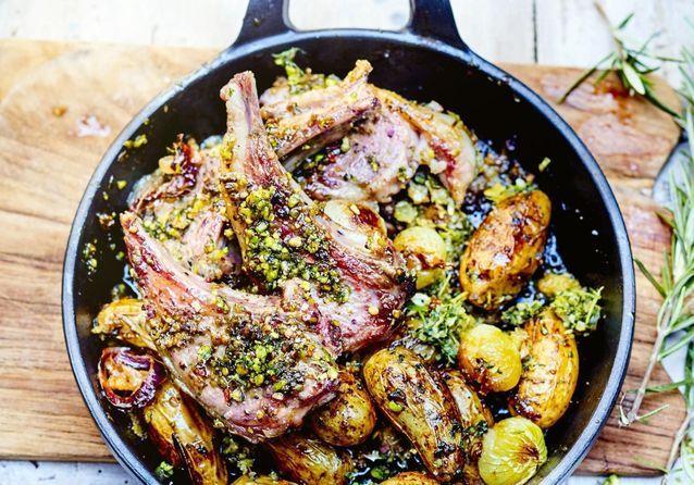 60 recettes d'agneau de Pâques