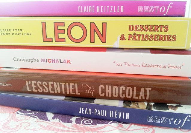 Pâtisserie : nos livres de gâteaux préférés