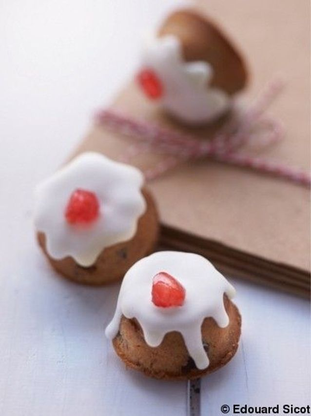 Mini-christmas cakes