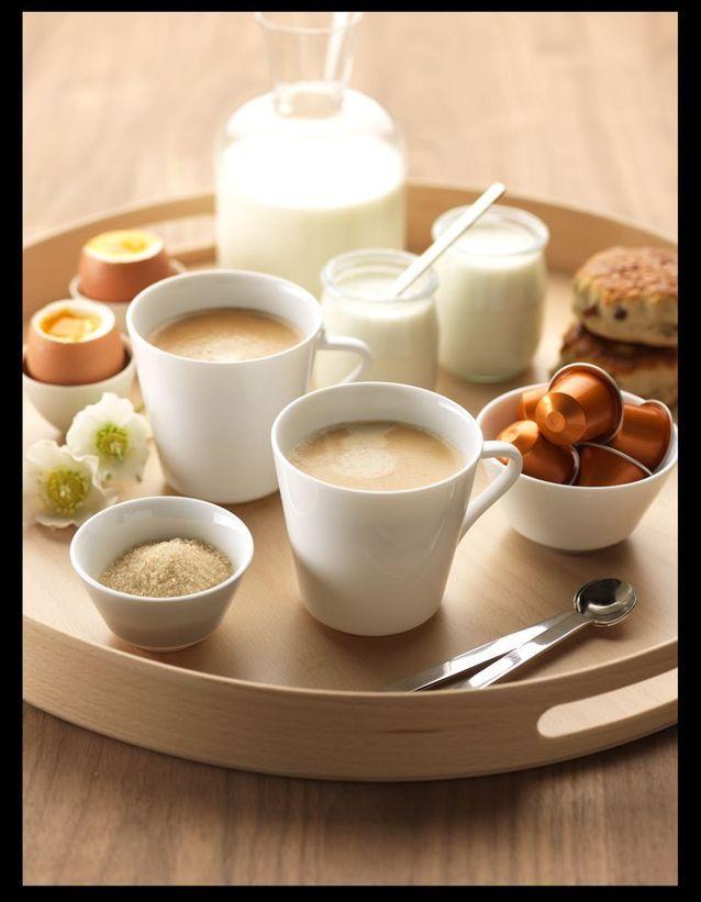 Petit Déjeuner Au Lit Nespresso Linizio Lungo