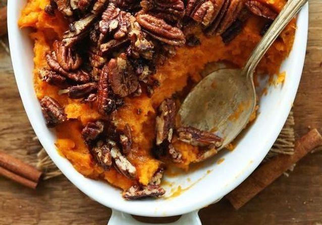 La purée de patate douce, la comfort food de l'automne