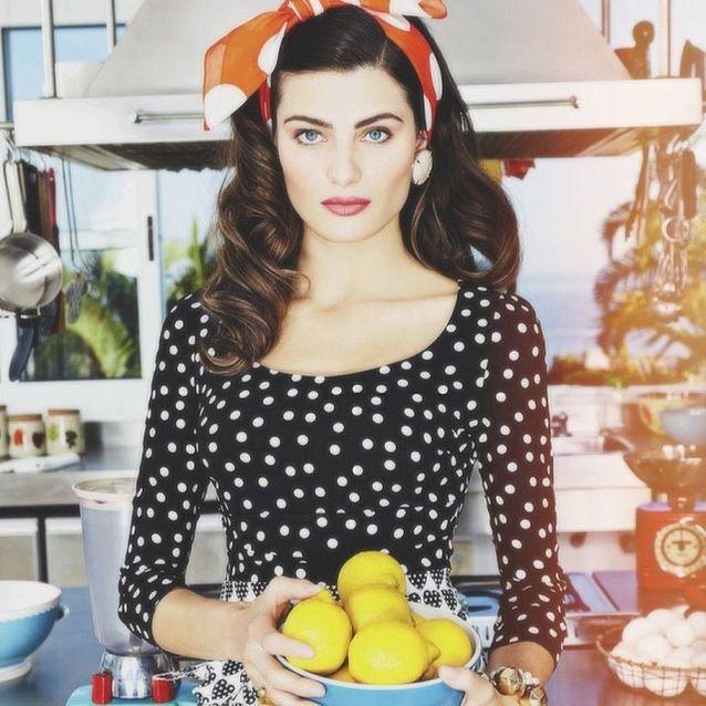 Du citron pressé comme Isabella Fontana