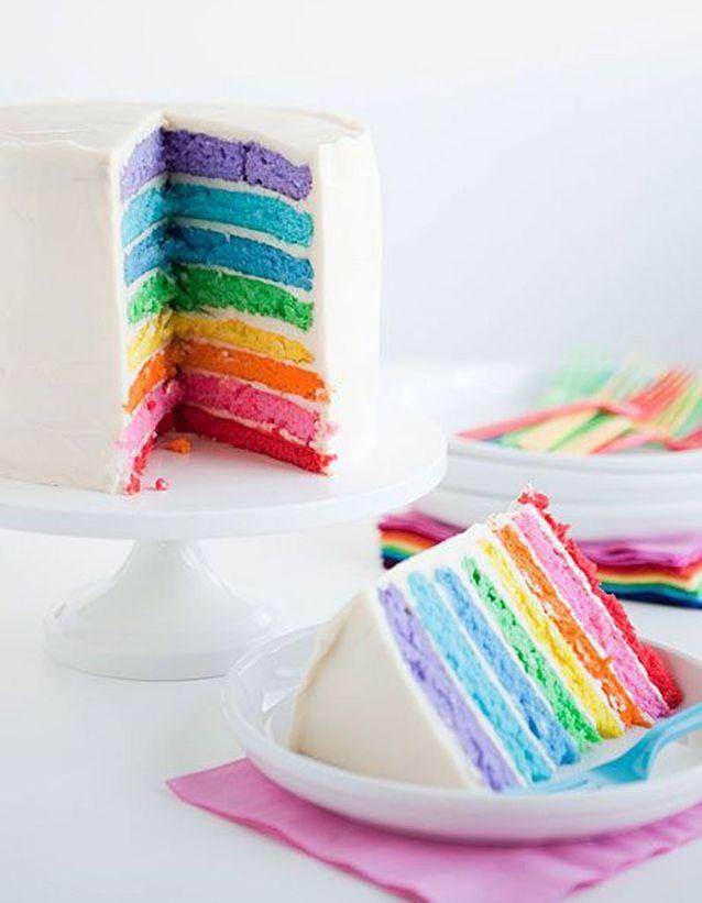 Rainbow cake original