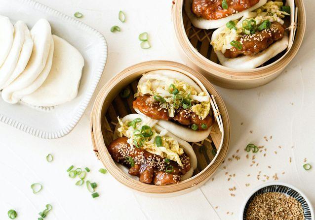 Gao Bao au poulet frit