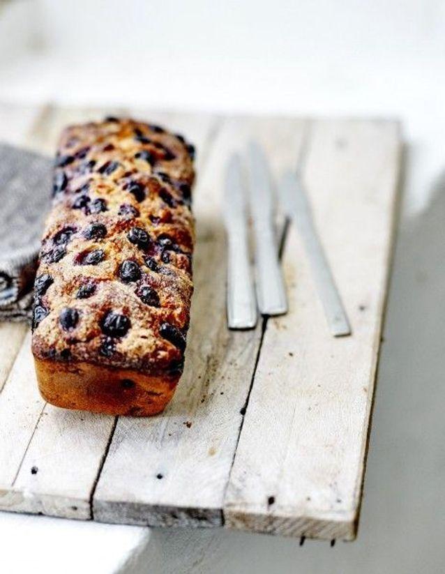 Bread cake banane et myrtille
