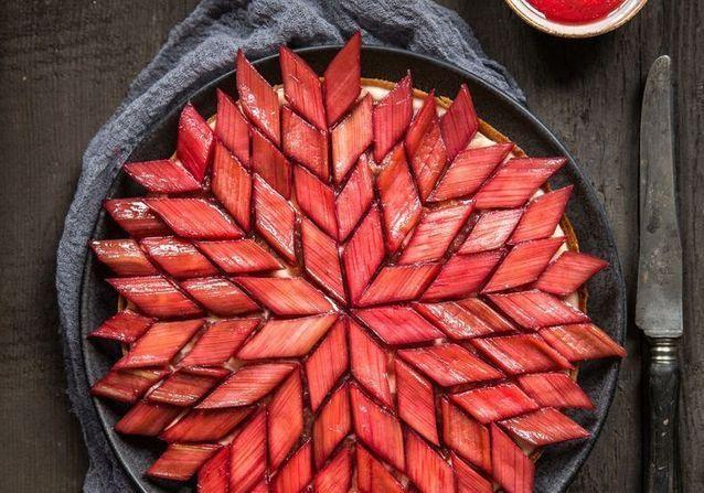La tarte à la rhubarbe fait son come-back