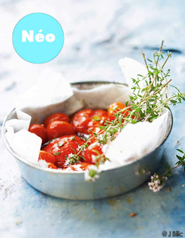 Lapin confit tomate neo