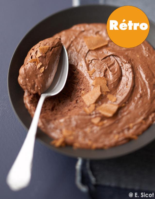 Mousse Chocolat retro