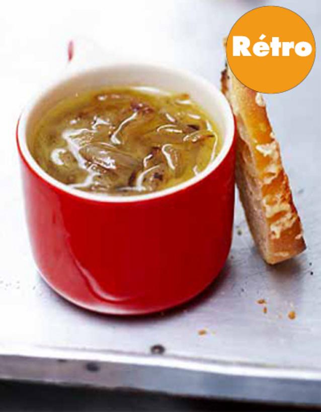 Soupe à Loignon retro