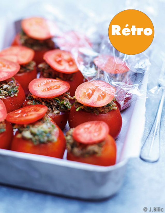 Tomates farcies retro