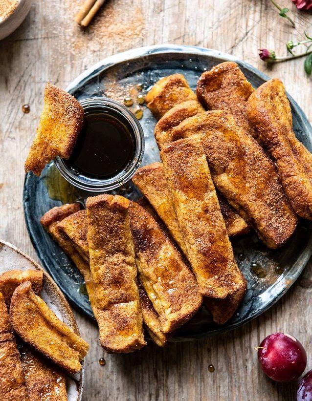 Bâtonnets de pain perdu
