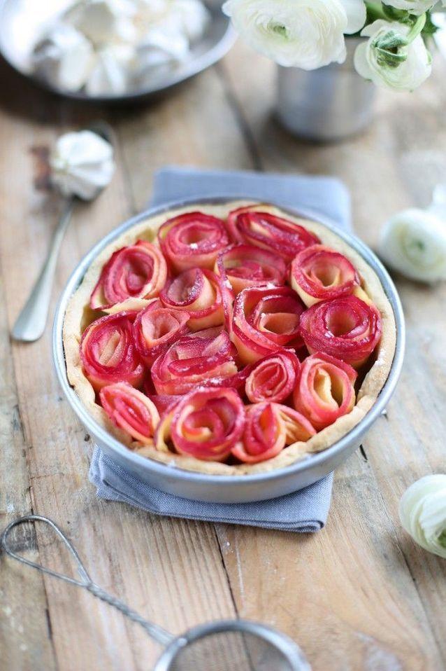 Tartelettes fleur de pomme