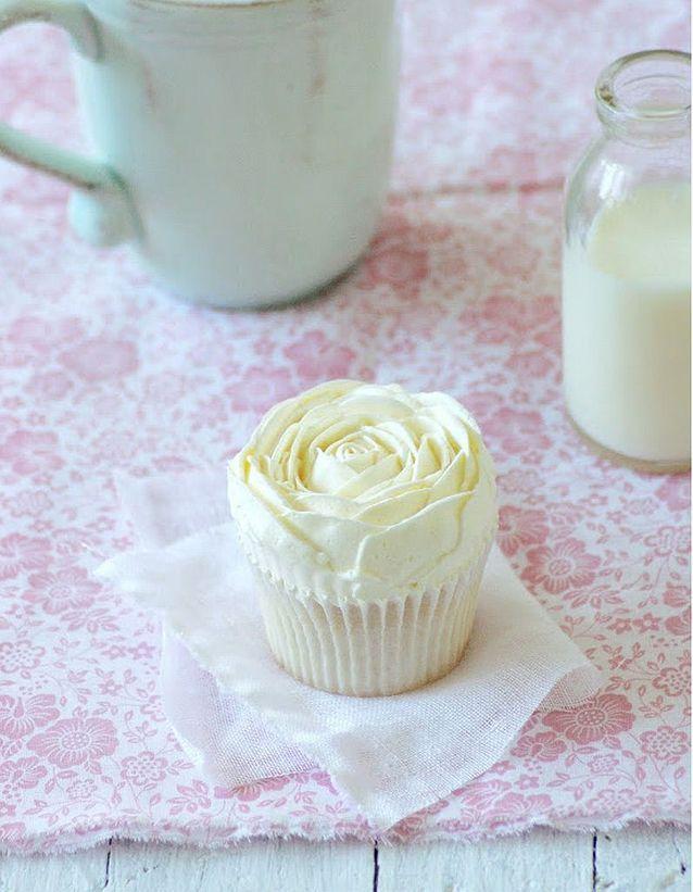 Cupcake chocolat blanc