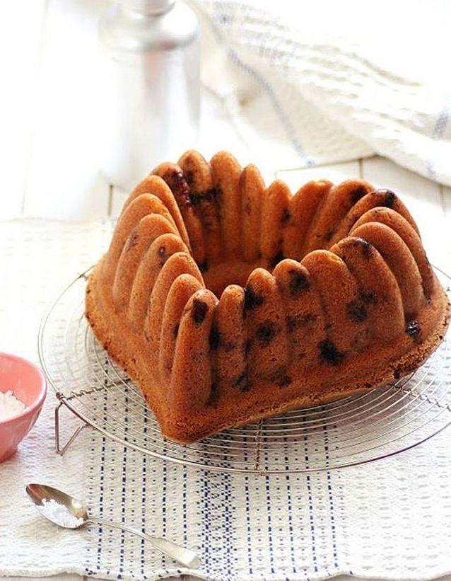 Gâteau couronne aux fruits des bois