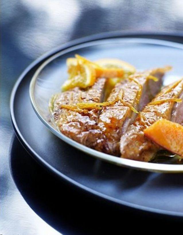 Filets de canard au gingembre